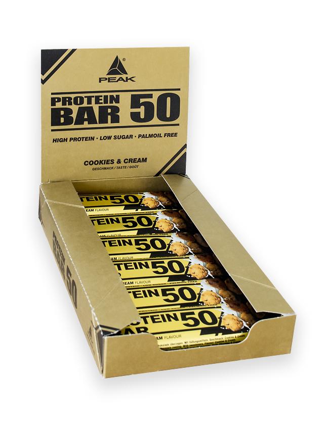 Protein Bar 50 - Display 12 Riegel