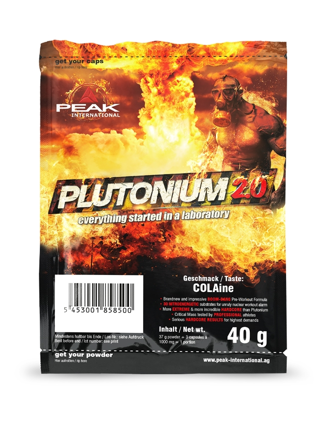 Plutonium 2.0 - Single Pack 40g