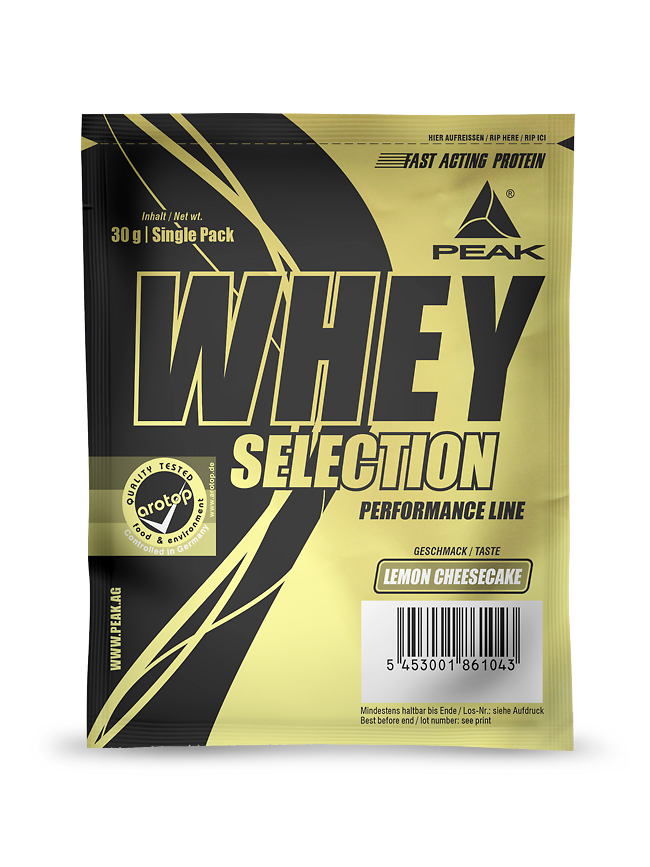 Whey Selection - Single Pack 30g
