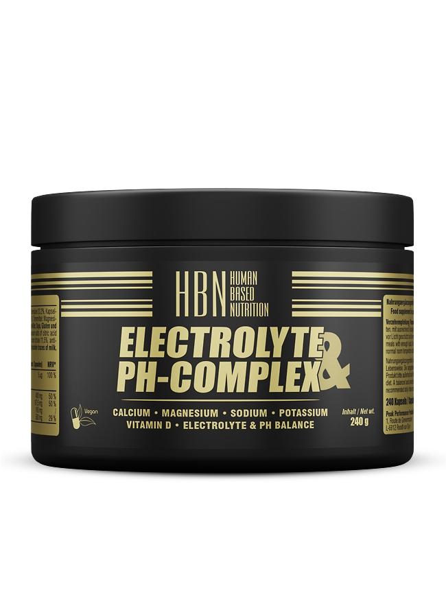 HBN - Elektrolyt & pH-Complex - 240 Kapseln