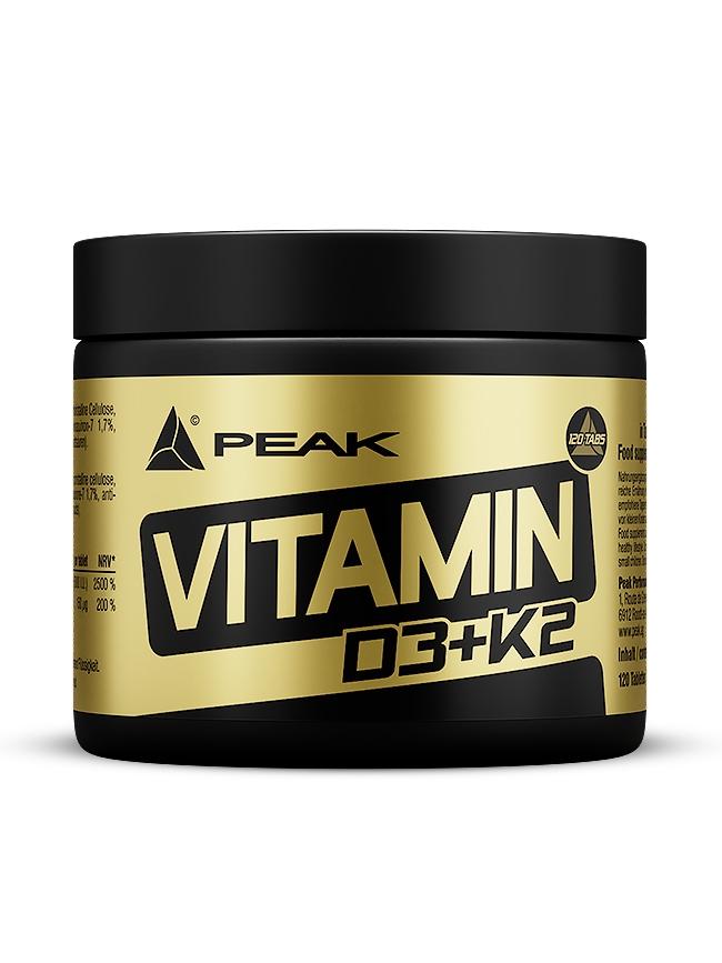 Vitamin D3 + K2 - 120 Tabletten