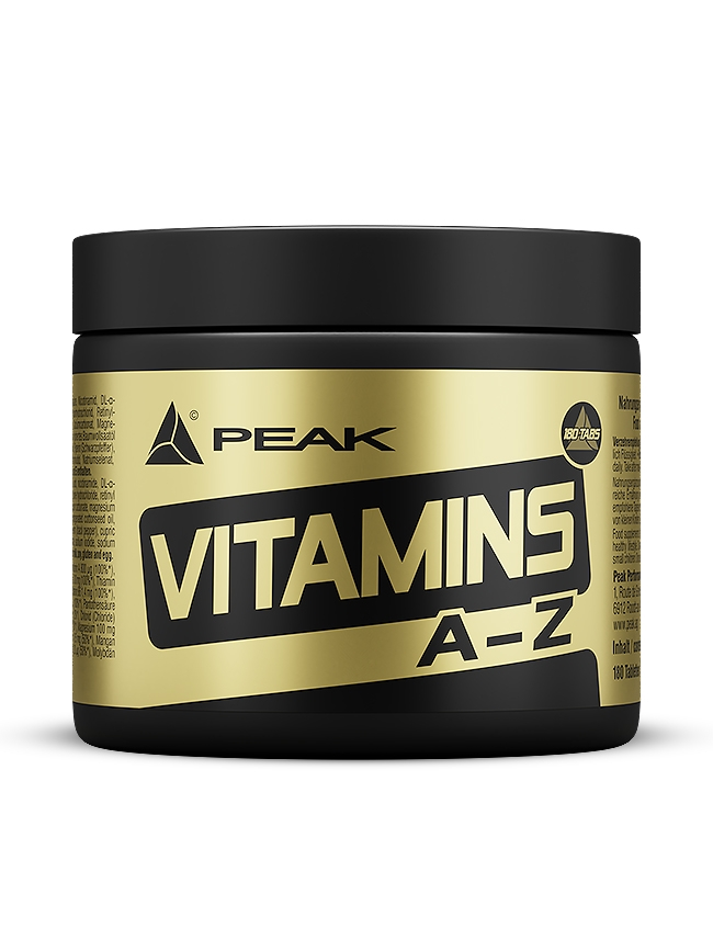 Vitamins A-Z - 180 Tabletten