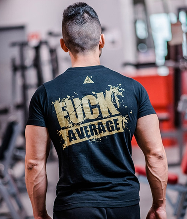 "T-Shirt ""FUCK AVERAGE"""